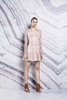Herve Leger by Max Azria pre-spring/summer 2016. Click to see full gallery