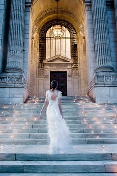 One of the most beautiful wedding photos of all time from Christian Oth Studios! Use Candle Impressions flameless votives to recreate this beautiful photo at your wedding. A timeless masterpiece! Mod Wedding, New York Wedding, Wedding Bells, Perfect Wedding, Dream Wedding, Wedding Day, Church Wedding, Library Wedding, Wedding Entrance