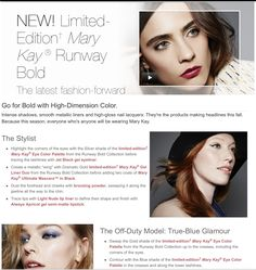 Project Runway, Fall Collections, Mary Kay, High Gloss, Fashion Forward, Latest Fashion, Stylists, Seasons, Color