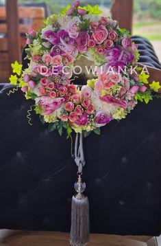 Wianek dekoracyjny wykonany pod licytację charytatywnie❤ Floral Wreath, Wreaths, Autumn, Home Decor, Floral Crown, Decoration Home, Door Wreaths, Fall Season, Room Decor