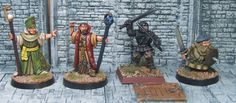 It's time to feature another competitor in the Cleric, Fighter, Wizard, Rogue Miniature Painting Tourney. Today's Ensemble Shot is submitted by Black Hat Miniatures! You can find them here: https://www.blackhat.co.uk/ Make sure you vote during AetherCon all weekend long to have your say on who is the best. The more you vote, the more chances you have to win! www.aethercon.com