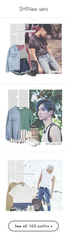 """SHINee sets"" by yxing ❤ liked on Polyvore featuring shinee, Edition, American Apparel, New Balance, kpop, taemin, Fjällräven, Zara, Johnstons of Elgin and Eytys"