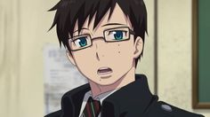 Lol look at that cute expression | Yukio | Ao no Exorcist