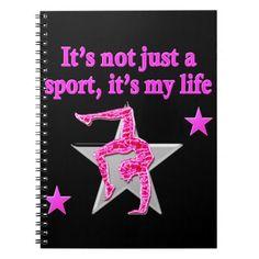 BRIGHT PINK GYMNASTICS IS MY LIFE DESIGN http://www.zazzle.com/mysportsstar/gifts?cg=196751399353624165&rf=238246180177746410 #Gymnastics #Gymnast #WomensGymnastics #Gymnastgift