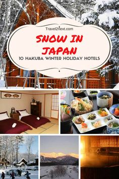 If you're a skier or snowboarder, Hakuba in Japan is the perfect winter holiday for you. Here are 10 Hakuba hotels and cottages to stay. Snow In Japan, Winter In Japan, Hakuba Japan, Nagano Japan, Holiday Hotel, Holiday Travel, Snowboarding In Japan, Snow Holidays, Japan Travel Tips