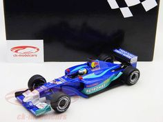 I found some of my favorites on my favorite stuff shop; N. Heidfeld Sauber Petronas C21 formula one 2002 1:18 Minichamps