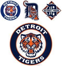 detroit tiger logos | Detroit Tigers Logo Concept - Concepts - Chris Creamer's Sports Logos ...