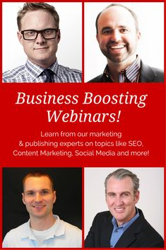 We want to help boost your business! Learn the best tools and practices.