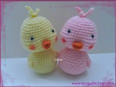 ▶ How To Crochet A Duck - YouTube