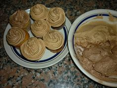 Cupcakes, Frosting, Peanut Butter, Pudding, Cookies, Breakfast, Desserts, Food, Ideas