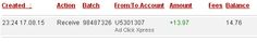 ADCLICKXPRESS – ACX IS AWESOME AND HERE IS MY PAYMENT NR.11! NO SCAM HERE!! I am setting my proof withdrawal from the money I earned at ACX Making my daily earnings is fun, and makes it a very profitable! Work from home at ACX. http://www.adclickxpress.com/?r=eh6qw6keb3ja&p=aa