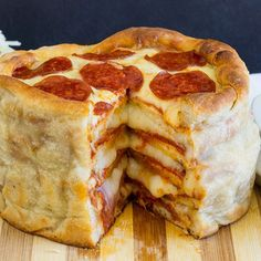 I can't tell if I'm in heaven or hell but wherever I'm at I want this. 5 Things You Can Pizza Besides Cake. Via FWx (http://fwx.foodandwine.com).