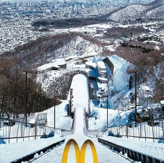Mac Donald's adv for winter games