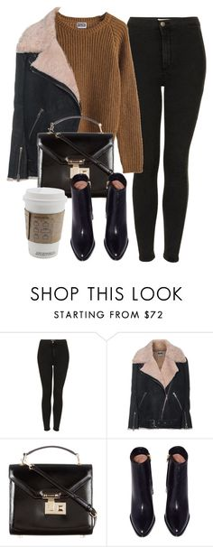 """Untitled #6246"" by laurenmboot ❤ liked on Polyvore featuring Topshop, MTWTFSS Weekday, Acne Studios and Rebecca Minkoff"