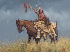 Thunderbolt - Mark Keathley Native American Artwork, Cowboy Art, Counted Cross Stitch Patterns, Cross Stitches, Beautiful Artwork, Nativity, Pattern Design, Old Things, Horses
