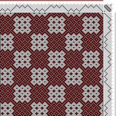 Hand Weaving Draft: N. 13-3, Weber Kunst und Bild Buch, Marx Ziegler, 8S, 8T - Handweaving.net Hand Weaving and Draft Archive
