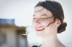 Hair style for Designer Christina Braun...
