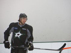 Dillon enjoying a laugh at Stars practice // 10 2 2013 // photo by me