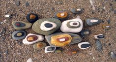 Pebbles Long on Sand
