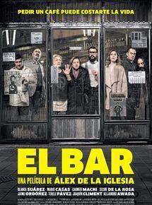 9:00 horas. Un grupo de personas absolutamente heterogéneo desayuna en un bar en el centro de Madrid. Uno de ellos tiene prisa; al salir por la puerta recibe un disparo en la cabeza. Nadie se atreve a socorrerle. Están atrapados.