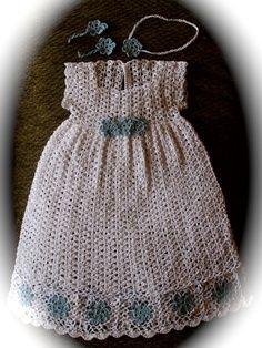 heirloom christening dress crochet pattern   Crocheted Blessing Dresses