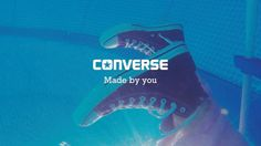 The Chuck Taylor All Star Converse Made by you  leverage iconic people to share their shoe stories, choices of converse and lifestyle which standing out converse point of view.