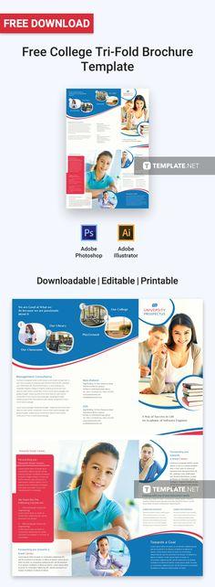 Free A4 Sample Church Brochure Free Brochure Templates Pinterest