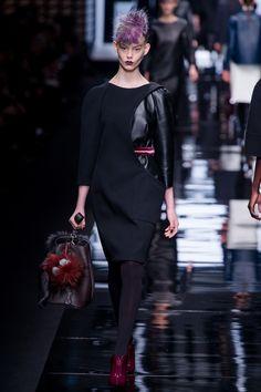 Fendi Fall 2013 Ready-to-Wear Fashion Show - Ondria Hardin