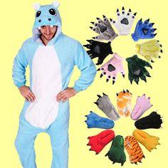 Blue Hippo Onesies Hoodie Animal Costume Kigurumi Pajamas Whole Set Onesie Costumes, Zentai Suit, D D Characters, Polar Fleece, Madagascar, Pyjamas, Costume Ideas, Dinosaur Stuffed Animal, Onesies