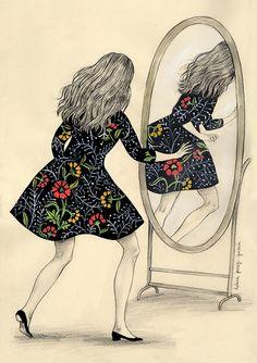 Otra vez la chica del espejo. The Flight