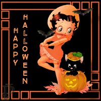 Use this gif of Betty Boop Halloween of Betty Boop Halloween in your smartphone