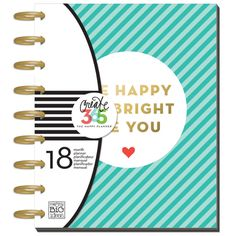 Create 365 - The Happy Planner™ Planners - 2016-2017 CLASSIC Happy Planner™ - Be Bright - Planners - Me & My Big Ideas (MAMBI) - Orchids and Hummingbirds Designs, LLC  - 1