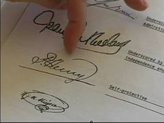 Learn the Basics of Handwriting Analysis .... Learn how to decipher a famous person's signature and what it says about them in this free handwriting analysis video series from our graphology expert.