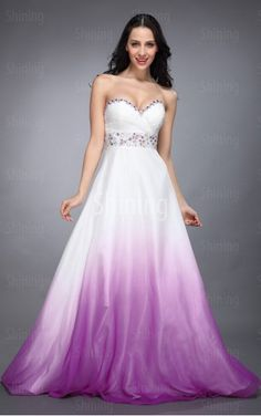 Multi Colours A-line Floor-length Sweetheart Dress  (other color but no pink or purple)