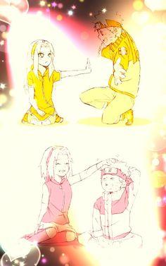 NaruSaku love in Shippuden +Season 1 Naruto