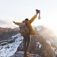 Winning summit sunrises in Val Gardena. Photo by @masonprendergast #stayandwander