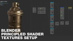 This is amazing! / Blender Tips - Principled Shader - Automatic Texture Setup