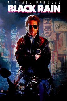 black rain   Black Rain 1989 - dbcovers.com