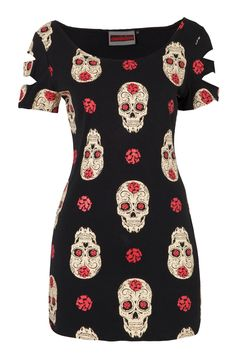 Day of the Dead T-Dress