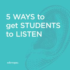 Listening - the neglected literacy skill.