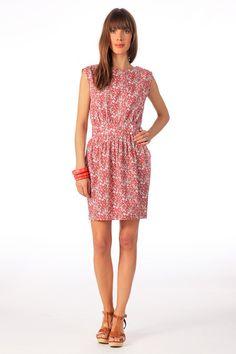 Vestido derecho - wishes - Rojo / Coral Sessun en MonShowroom.com