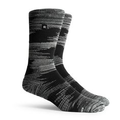 Superior yarn design, extra arch support, and a padded foot pad make these the most comfortable athletic socks you'll ever wear.