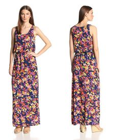 Lilla p maxi dress tropical
