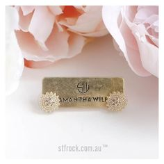 This will go with every outfit! Get the @samanthawills 'The Golden Stud Earrings' for $79.90 at shop.stfrock.com.au #stfrock #samanthawills #accessories #jewellery #earrings #gold