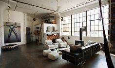 An eclectic loft