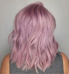 When Lilac meets Strawberry BLONDME - thanks to @lorietherrien for this delicate color