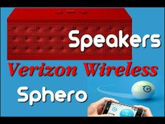 Verizon Wireless Accessories The Sphero is a blast and speakers with sound you can not believe.