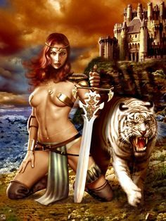 women warriors airbrush art - Google Search