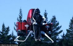 The P12 machine can reach a height of up to 8,000ft and travel at 45mph. It has been designed to be more maneuverable than its predecessor d...