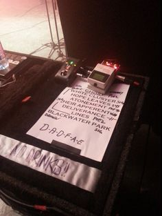 Opeth set list from Roadburn Festival 2014